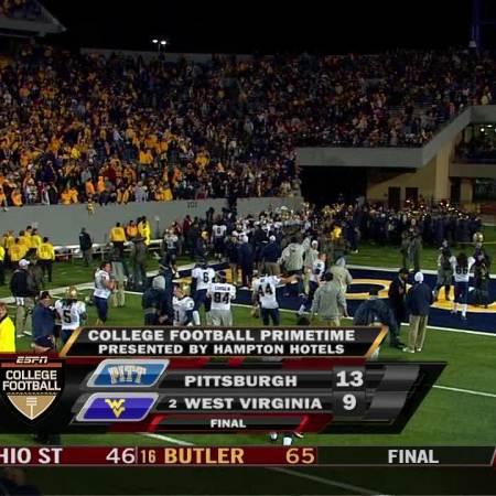 Morning Wood: December 1, 2007 – Pitt Crushes #2 WVU's National